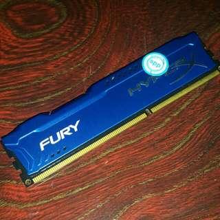 Kingston HyperX Fury 4GB DDR3 (Blue)