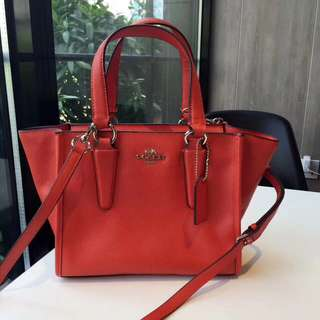 Coach Crosby Carryall 21 - Red