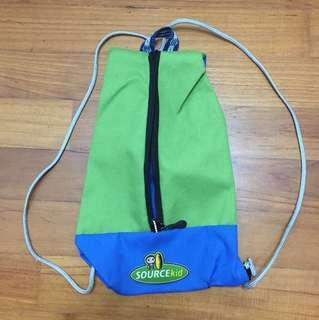 Drawstring Bag for kids children 0-2 years 30x20cm