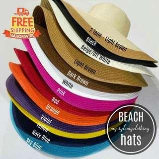 Wide brim beach sun all season hat