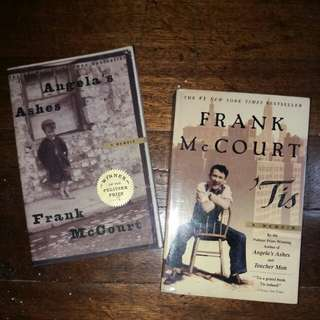 Bundle - Frank McCourt Books - Tis & Angela's Ashes