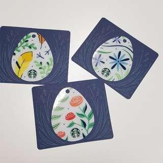 3 for 10$ Starbucks Card Easter From Overseas