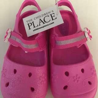 小童鞋 粉紅 7號 (全新)