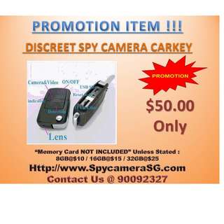 spy camera car key