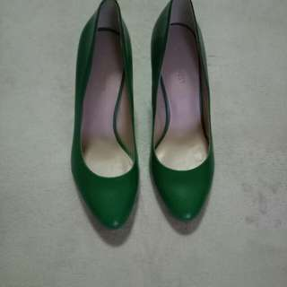 Original Nine West Green Heels #Bajet20