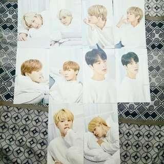 BTS mediheal photocards