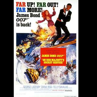 [Rent-A-Movie] JAMES BOND 007 ON HER MAJESTY'S SECRET SERVICE (1969)