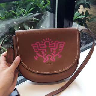 Coach Keith Haring Leather Crossbody