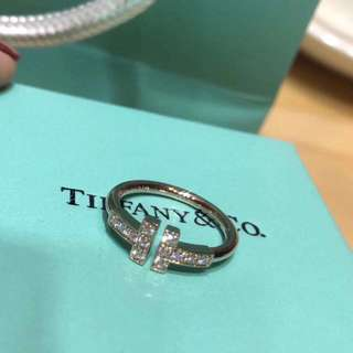 Tiffany & co T形戒指