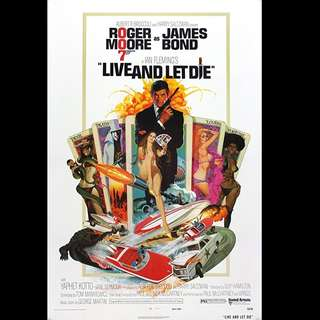 [Rent-A-Movie] JAMES BOND 007 LIVE AND LET DIE (1973)