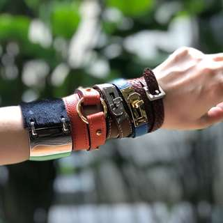 Handcrafted luxury leather accessories