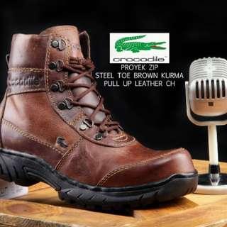 Safety Shoes Crocodile
