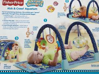 Fisher & Price baby playmat