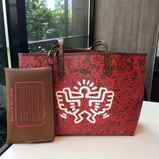 Coach Keith Haring Reversible Tote