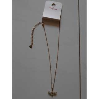 BNWT butterfly icon necklace