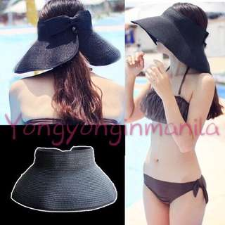Korean style foldable sun visor summer hat