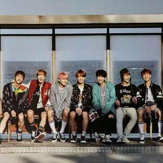 BTS You Never Walk Alone Official Poster
