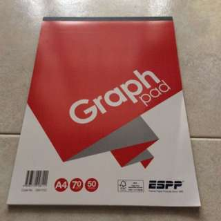 50 sheets Graph pad ($2/per 2pads)offer