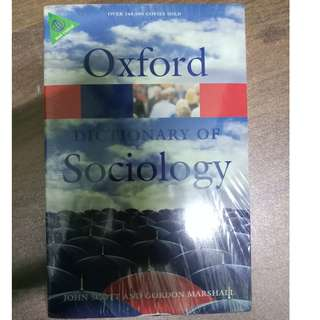 Oxford Dictionary of Sociology