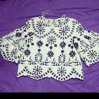 Zara blouse trafaluc