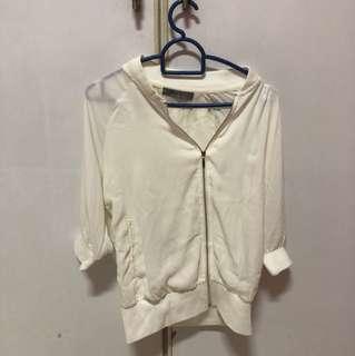 White Laced Jacket