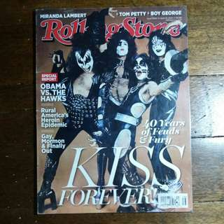 KISS | Rollingstone Magazine April 2014