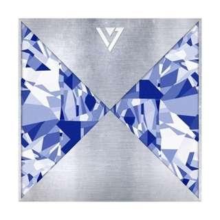 ON HAND Seventeen Mini Album Vol.1 - 17 Carat - CD, Poster & Box (Box w/ Damage due to Shipping)