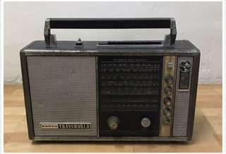 Antique Sanyo Radio