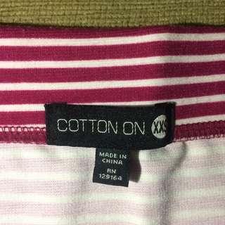 Cotton on span