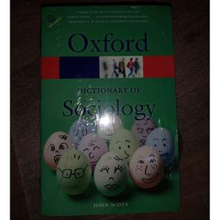 Oxford's Dictionary of Sociology