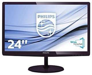 Philips LCD monitor 23.6inch (new) Full HD