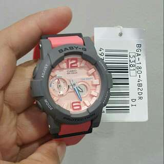 Authentic Baby G BGA180-4B2