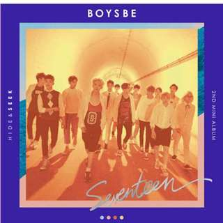 ON HAND Seventeen Mini Album Vol.2 - Boys Be (Seek Ver.) - CD, Photobook, Joshua PC