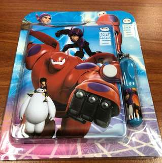 Big Hero 6 Mini Notebook