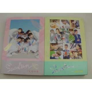 ON HAND SEALED Seventeen Album Vol. 1 - FIRST 'LOVE&LETTER' Set (Love & Letter Version) - CD & Photobook