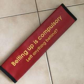 [RARE] Belt up campaign Singapore