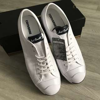 converse white leather jack purcell