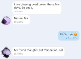 Customer Review On The Ginseng Pearl Cream
