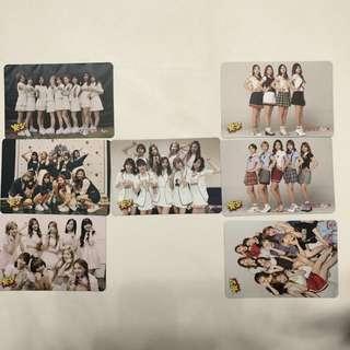 Twice Yes!專輯卡part2 白卡