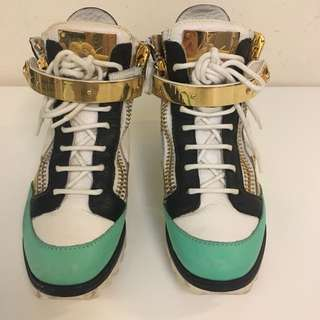 Guiseppe Zanotti High Top Sneakers (Size 36.5) - HKD$1,800