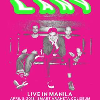 2 LANY UB TICKET