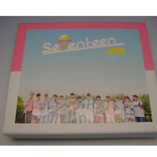 ON HAND Seventeen Album Vol. 1 - LOVE&LETTER (Repackage) (Normal Edition) - CD, Photobook, & Sleeve Box (Box w/ Damage due to Shipping)