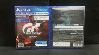 [BN] PS4 Gran Turismo Sport (Brand New)