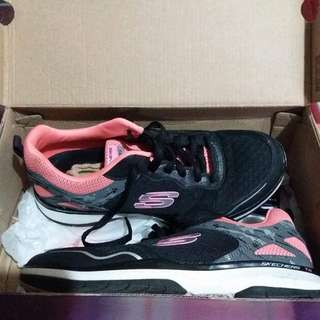 Skechers Burst Pink-Black