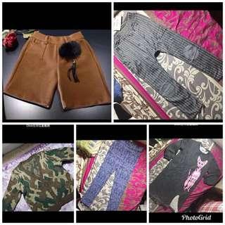 $90/5 pcs kids export clothes