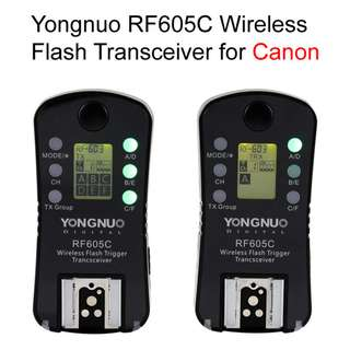 Yongnuo RF-605C Wireless Transceiver Set for Canon