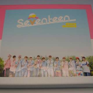 ON HAND Seventeen Album Vol. 1 - LOVE&LETTER (Repackage) (Normal Edition) - CD, Photobook, & Sleeve Box (Box w/ Damage due to Shipping) w/ Poster
