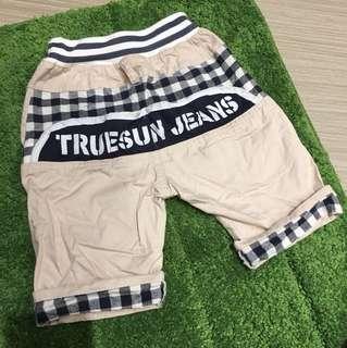 夏季透氣短褲(適合18-24month)
