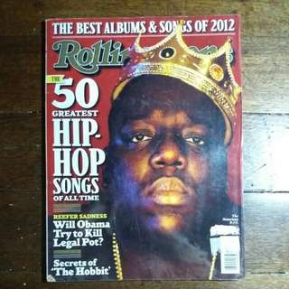 Notorious B.I.G. | Rollingstone 50 Greatest Hiphop Songs