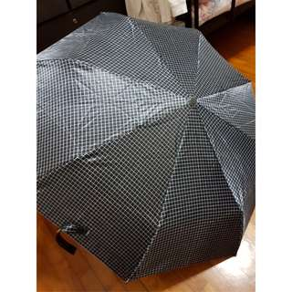 Black Printed Umbrella